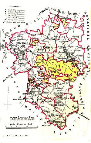 Dharwad - Dharwar 1855