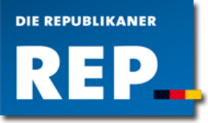The Republicans (Germany) - Image: Die Republikaner Logo