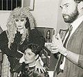 Diego Dalla Palma, al centro Loredana Berte e Mia Martini in basso.jpg