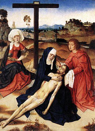 Dieric Bouts - Lamentation, c. 1460
