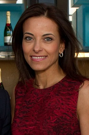 Dina Powell - Image: Dina Habib Powell at FT Spring Party