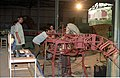 Diplodocus in Making - Dinosaurs Alive Exhibition - NCSM - Calcutta 1995 461.JPG