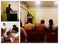 Discours du Président de Wikimedia Côte d'Ivoire.jpg