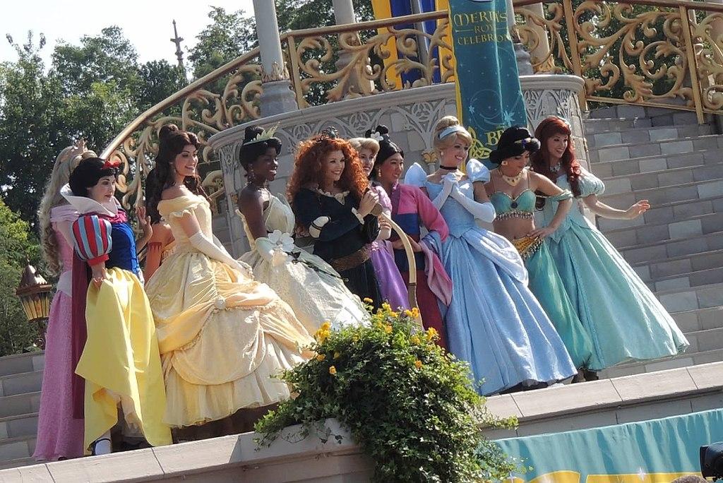 Nomes de Princesas da Disney