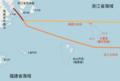 Disputed Area between Zhejiang & Fujian Provinces of China.png