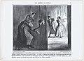 Dites-donc Baptiste, qu'est-ce qu'y ont donc monsieur et madame à crier comme ça depuis une heure..., from Les Comédiens de Société, published in Le Charivari, April 30, 1858 MET DP876701.jpg