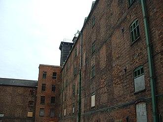 History of Shrewsbury - Reverse of Ditherington Flaxmill