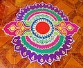 Diwali Diwali rangoli in goa.JPG