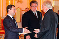 Dmitry Medvedev with John Ross Beyrle.jpg
