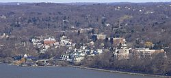 Dobbs Ferry, New York.