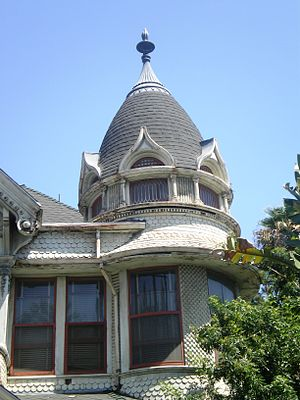 Frederick Mitchell Mooers House - Dome on Mooers House