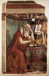 Domenico Ghirlandaio: Saint Jerome in His Study