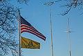 Don't Tread On Me and American Flag, St. Cloud, Minnesota (23922586450).jpg