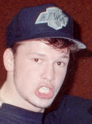 Donnie Wahlberg - Wahlberg in 1990