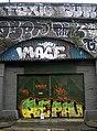 Door graffiti, Leybourne Road NW1 - geograph.org.uk - 2008076.jpg