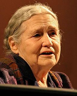 Doris Lessing British novelist, poet, playwright, librettist, biographer, short story writer, and Nobel Laureate
