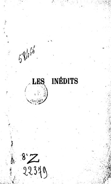 File:Dostoïevski - Inédits.djvu