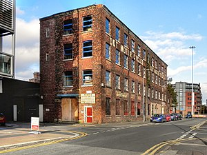 Dot Cycle and Motor Manufacturing Company - The old Dot Motorcycle Works, Ellesmere Street, Castlefield, Manchester