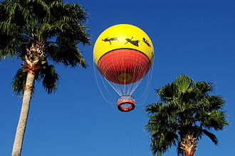 Disney Springs - Characters in Flight observation balloon ride