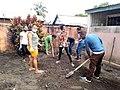 Dr LAMIREE MARTIN Sandrine and her team to clean up hospital's yards at CSB 2 Tanambao Verrerie Toamasina Madagascar (p3).jpg