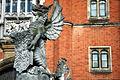 Dragon statuary, Hampton court.JPG