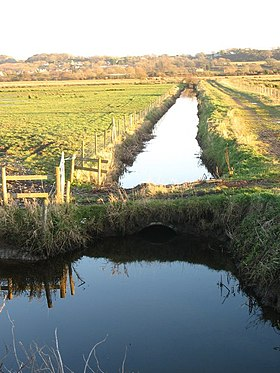 Drain leading to the eastern drainage channel - geograph.org.uk - 1088168.jpg