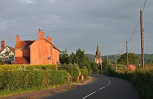 Welland, Worcestershire - Image: Drake Street, Welland geograph.org.uk 845021