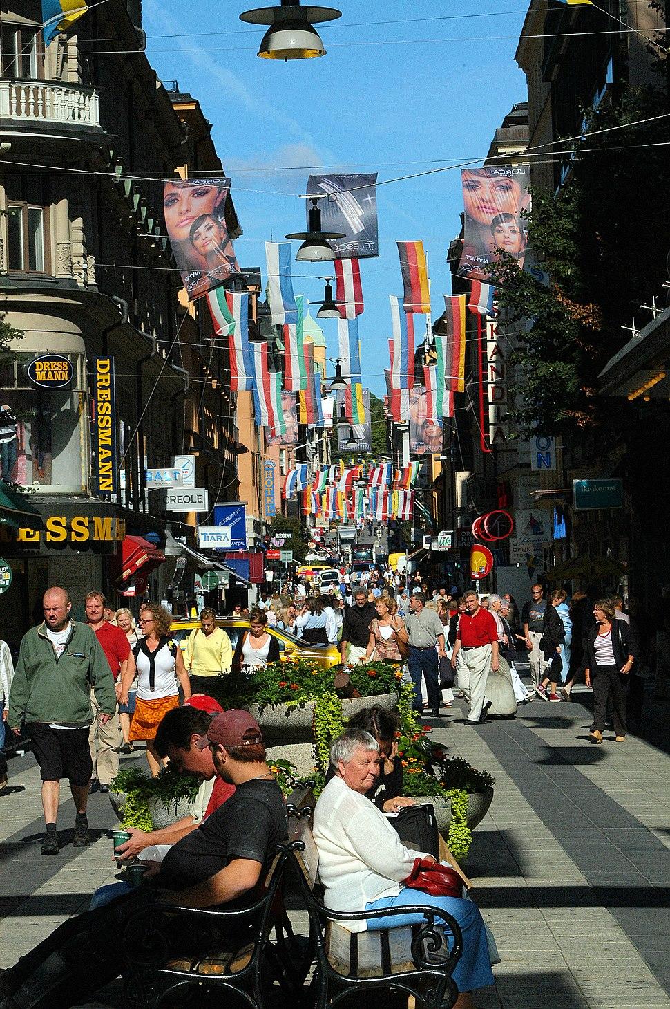 Drottninggatan sommaren 2006