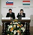 Drugo delovno srečanje Vlade Republike Slovenije in Vlade Republike Madžarske 2009 14.jpg