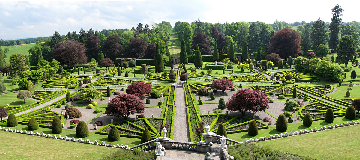 Inventory of gardens and designed landscapes in scotland for Irish garden designs