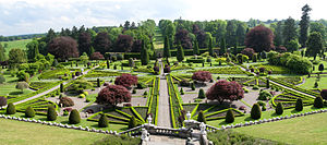 Inventory of Gardens and Designed Landscapes in Scotland - Image: Drummond Gardens