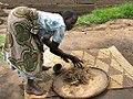 Drying millet grains in Uganda 01.jpg
