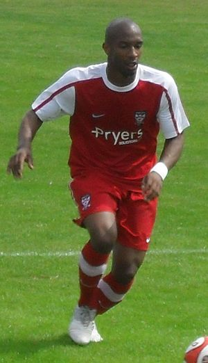 Duane Courtney - Courtney playing for York City in 2010