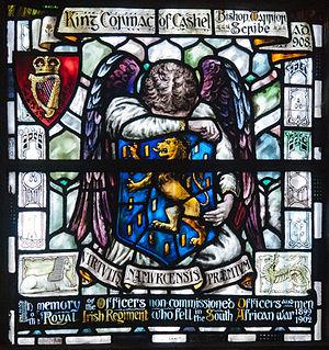 An Túr Gloine - Memorial window from St Patrick's Cathedral, Dublin executed by An Túr Gloine.
