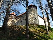 Dubovac Castle in Karlovac, Croatia