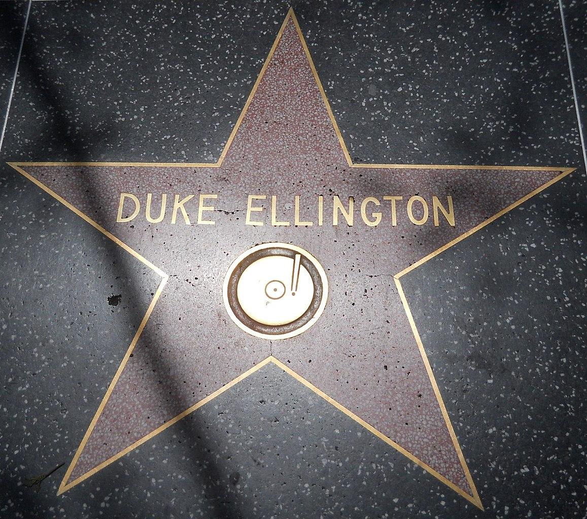 File Duke Ellington Star Hwf Jpg Wikipedia