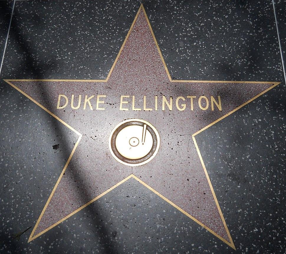 Duke Ellington star HWF