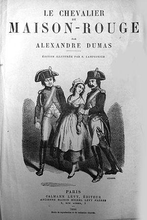 Le Chevalier de Maison-Rouge - Image: Dumas 2