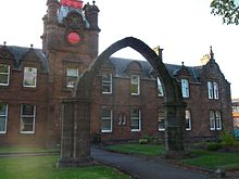 Dumbarton Municipal Buildings and College Bow.JPG