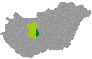 Dunaújváros District Districts of Hungary in Fejér