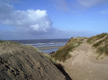 English: Dunes at Formby Point