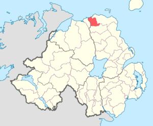 Dunluce Lower - Image: Dunluce Lower barony