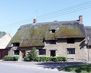 Duns Tew - The Ridge House, opposite the parish church, was built in the first half of the 17th century