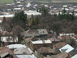 Dusheti - Image: Dusheti (Photo A. Muhranoff, 2011)