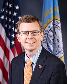 Dusty Johnson, official portrait, 116th congress.jpg