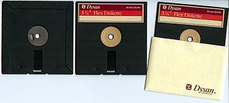 """Dysan - Image: Dysan 3.25"""" Flex Diskette"""