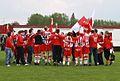 E-Side en ECO-spelers vieren de overwinning tijdens eindronde 2009-2010.jpg