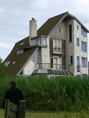 Self-build house (EVA Lanxmeer, Nederland)