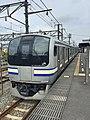 E217 EMU at Kurihama Station.JPG