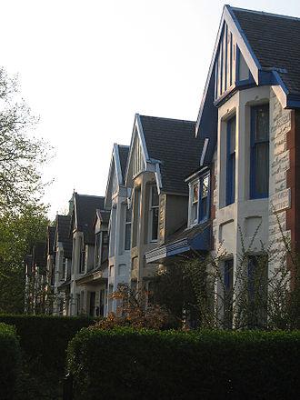Scotstoun - Image: Earlbank Avenue
